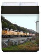 Union Pacific Locomotive Trains . 7d10564 Duvet Cover