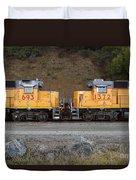 Union Pacific Locomotive Trains . 7d10573 Duvet Cover