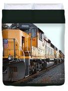 Union Pacific Locomotive Trains . 7d10588 Duvet Cover