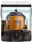 Union Pacific Locomotive Trains . 7d10589 Duvet Cover