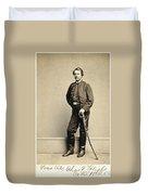 Union Soldier, 1860s Duvet Cover