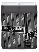 Union Square West Duvet Cover by Susan Candelario