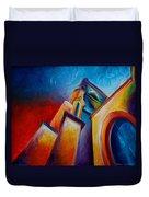 Unitarian Church Duvet Cover
