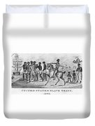 United States Slave Trade Duvet Cover by Photo Researchers