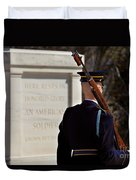 Unknown Soldier Duvet Cover