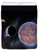 Unknown Worlds Duvet Cover
