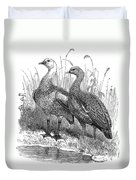 Upland Geese Duvet Cover