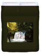 Upper Butte Creek Falls 3 Duvet Cover