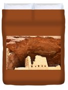 Upper Cliff Dwelling Duvet Cover