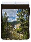 Upper Falls II Duvet Cover