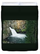 Upper Mccloud Falls Duvet Cover
