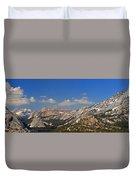 Upper Yosemite Panorama Duvet Cover