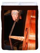 Upright Bass 1 Duvet Cover