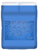 Urban Abstract Blue Duvet Cover