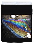 Urban Rainbow 2 Duvet Cover by Dale   Ford