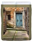 Urbino Door And Stairs Duvet Cover