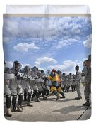 U.s. Air Force 86th Security Forces Duvet Cover by Stocktrek Images
