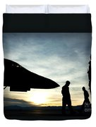 U.s. Air Force Airmen Prepare Duvet Cover
