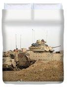 U.s. Army M2 Bradley Infantry Fighting Duvet Cover