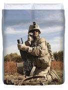 U.s. Marine Communicates Duvet Cover