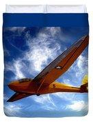 U.s. Marines Glider Duvet Cover