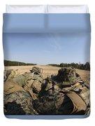 U.s. Marines Participate In A Known Duvet Cover