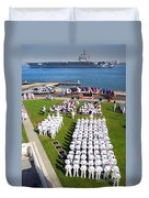 U.s. Navy Sailors Attend An Duvet Cover