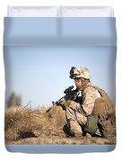 U.s. Navy Soldier Participates Duvet Cover