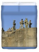 U.s. Special Operations Soldiers Duvet Cover