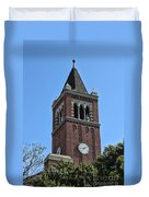 Usc's Clock Tower Duvet Cover