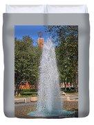 Usc's Fountain Duvet Cover