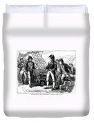 Uss Chesapeake, 1807 Duvet Cover