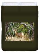 Utah Mule Deer Duvet Cover