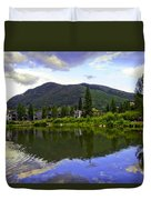 Vail Reflections 6 Duvet Cover