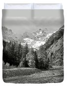 Val Di Cogne In The Italian Alps Duvet Cover