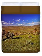 Valley At Fossil Butte Nm Duvet Cover