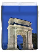 Valley Forge Memorial Arch Duvet Cover