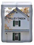 Valley Green Inn - Side View Duvet Cover