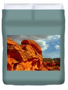 Valley Of Fire - Born To Be Wild Duvet Cover by Christine Till