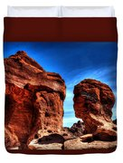 Valley Of Fire Monuments Duvet Cover