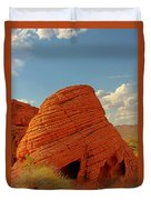 Valley Of Fire Nevada - Beehives Duvet Cover