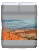 Valley Of Fire Nevada Duvet Cover