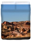 Valley Of Fire Winding Road Duvet Cover