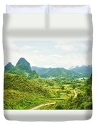 Valley Panorama Duvet Cover