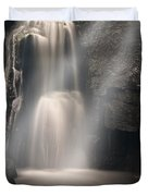 Valley Waterfall Lost Love Duvet Cover
