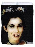 Vampire Bride Duvet Cover