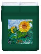 Van Gogh Sunflowers Duvet Cover