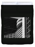 Vancouver Architecture Duvet Cover by Chris Dutton