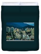 Vancouver Rooms With A View Duvet Cover