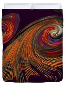 Variegated Abstract Duvet Cover